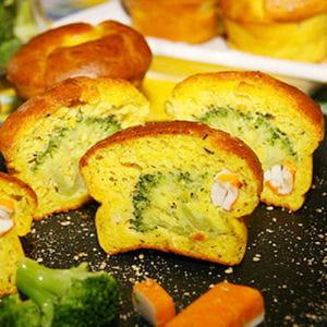 muffins brocolis et surimi