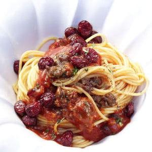 spaghetti à la bolognaise de us cranberry