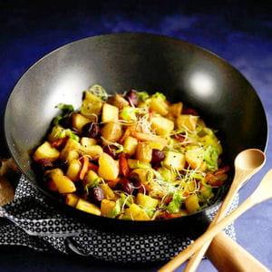 wok de pompadour label rouge