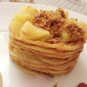 gâteau de crêpes au caramel beurre salé
