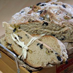 pain de campagne aux deux olives