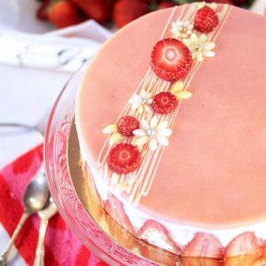 fraisier pâtissier