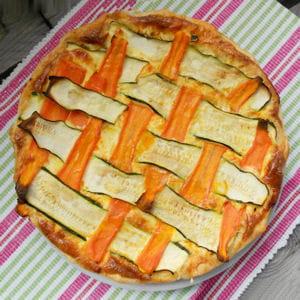 tarte courgettes carottes chèvre