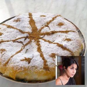 leïla bekhti : pastilla au foie