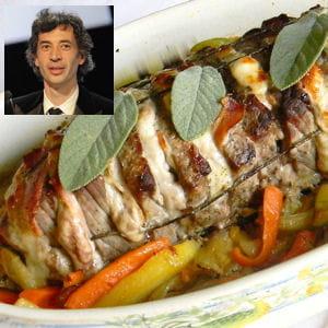 eric elmosnino : rosbeef et purée