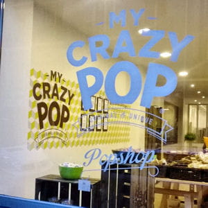 la devanture de la boutique my crazy pop.
