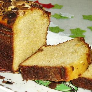 cake au chèvre frais et miel