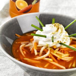 carotte givrée