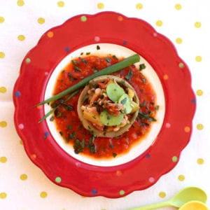 Coeur d 39 artichaut farci aux petits l gumes 50 recettes - Cuisiner coeur d artichaut ...