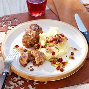 rissolé de veau aux cranberries fondues