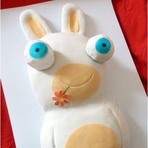 cake lapins crétins