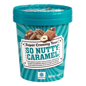 so nutty caramel - super creamy tour