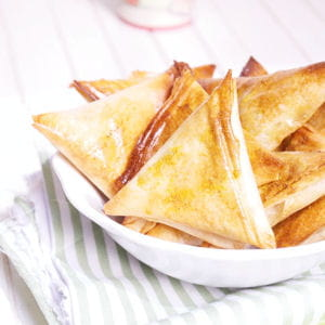 samoussas thon et céréales