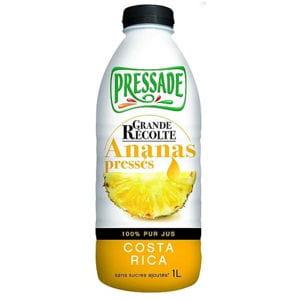 grande récolte ananas pressés