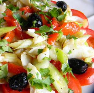 salade catalane à la morue