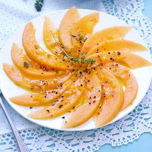 saumon melon cacahuete