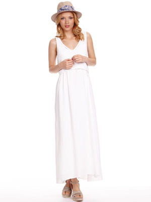 robe bi-matières de comptoir des cotonniers