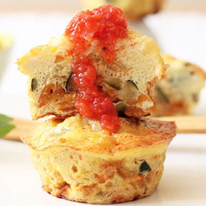 muffins légumes oeufs (egg muffins)