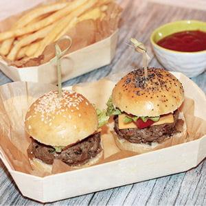 mini burger maison