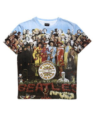 tee-shirt beatles de jc-dc denim edited by lee cooper