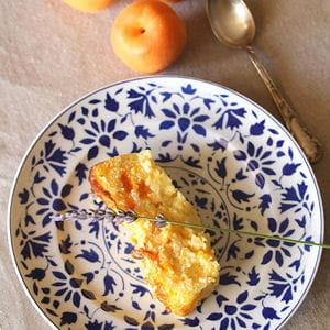 flan d'abricots