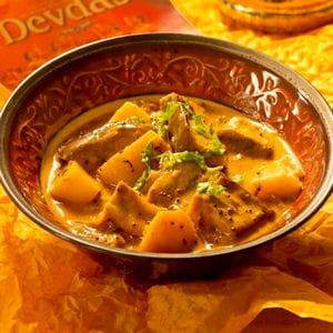curry d'aubergines et pommes de terre