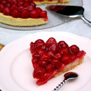 tarte aux framboises pâtissière