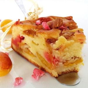 gâteau lyonnais aux mirabelles