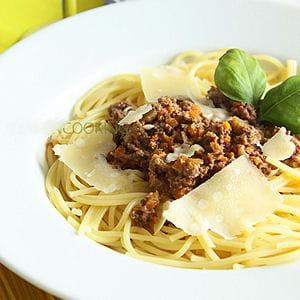 spaghetti ragu'alla bolognese
