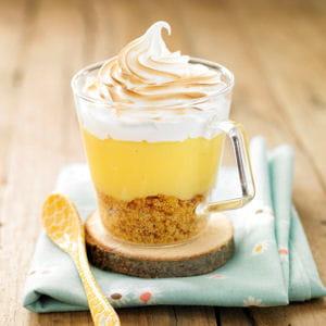 tarte au citron meringuée bretonne