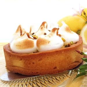 tartelettes citron amande meringuées