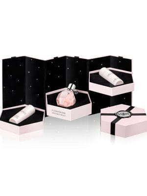 coffret flowerbomb de viktor rolf les parfums glisser sous le sapin journal des femmes. Black Bedroom Furniture Sets. Home Design Ideas