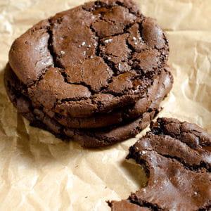 cookies chocolat, caramel, fleur de sel
