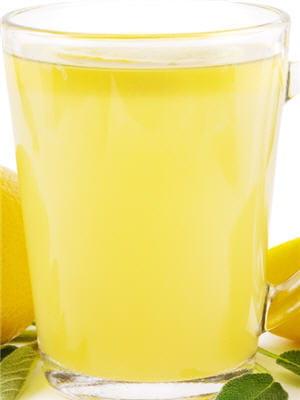 citron pressé chaud