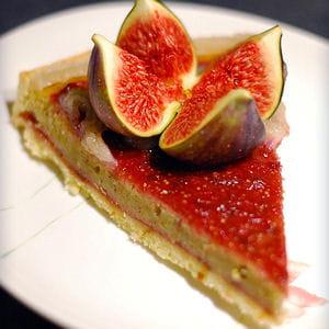 tarte alcazar à la figue et pistache