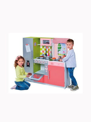 Mega cuisine int gr e de l 39 atelier du bois jouets no l for Cuisine integree bois