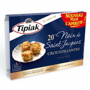 noix de saint-jacques croustillantes