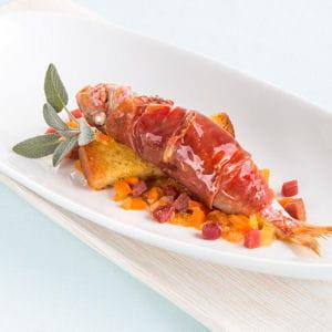 rougets au jambon de parme et soupe de poisson de gianni tarroni
