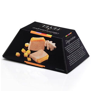 foie gras de canard entier en gelée mangue / gingembre de feyel