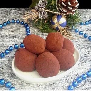 truffes au chocolat et caramel