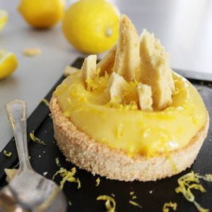 tarte citron meringuée destructurée