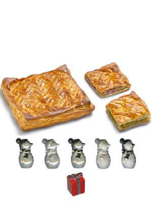 galette des rois pistache ou framboise de monoprix gourmet