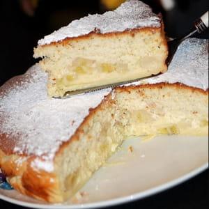 gâteau magique bananes et noix de coco