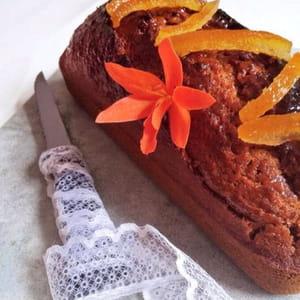 pain d'épices à la confiture de tangor (agrume)