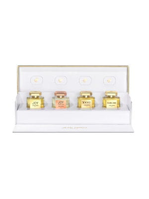la collection de parfums miniatures 2015 de jean patou.