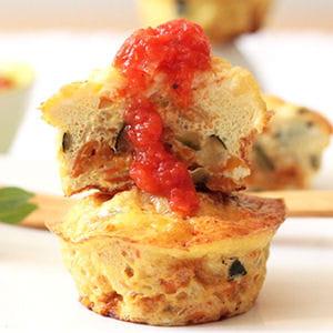 muffins légumes oeufs