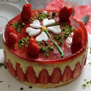 mon p'tit fraisier sans beurre