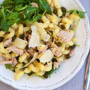 salade de pâtes au thon et au citron