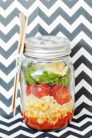 Recette minceur salade en bocal les recettes minceur de l 39 automne journal des femmes - Salade en bocal ...