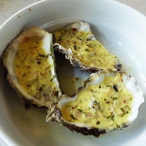 huîtres chaudes